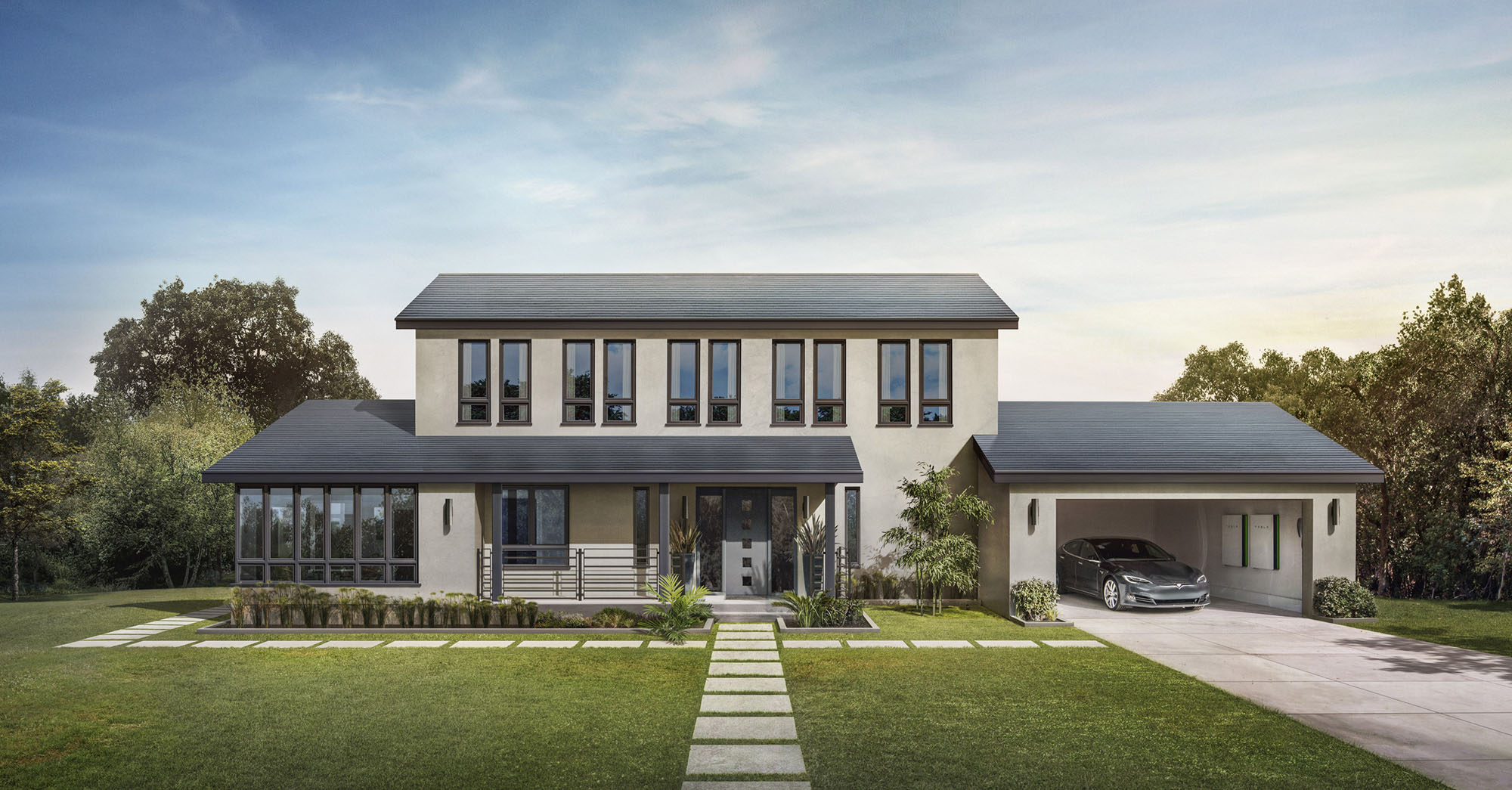 Tesla solardachziegel in deutschland anlegen in immobilien for In immobilien